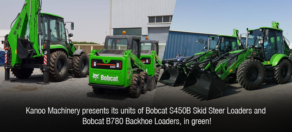Bobcat S450B Skid Steer Loaders and Bobcat B780 Backhoe Loaders