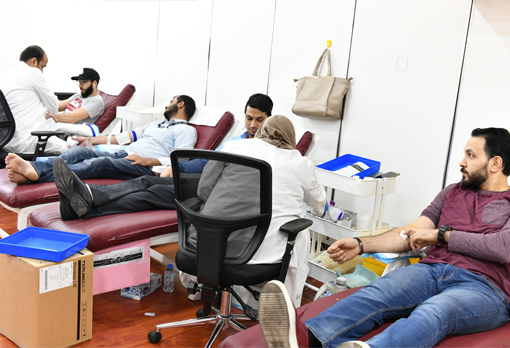 The Kanoo Group successfully concludes the 21st blood donation campaign