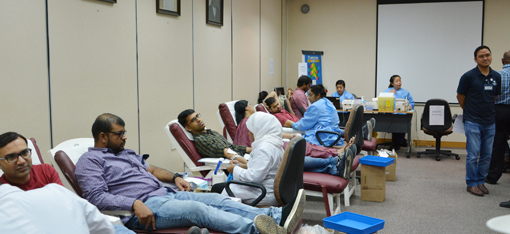 The Kanoo Group organises blood donation drive