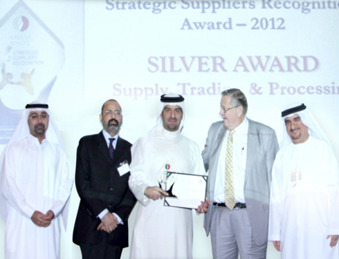 The Kanoo Group earns ENOC AWARD for outstanding performance