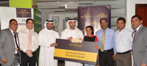 Kanoo Travel's top performers nail Etihad rewards