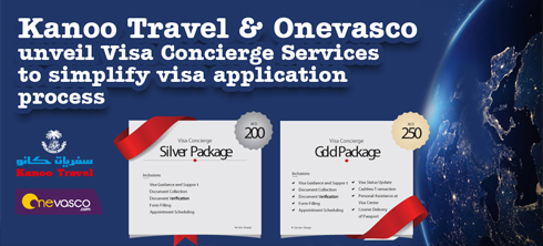 Kanoo Travel & Onevasco unveil Visa Concierge Services to simplify visa application process for global travelers