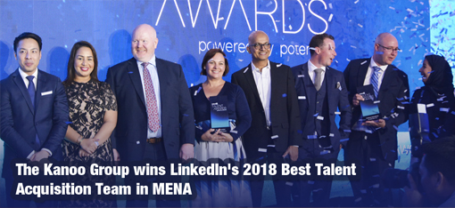 The Kanoo Group wins LinkedIn's 2018 Best Talent Acquisition Team in MENA