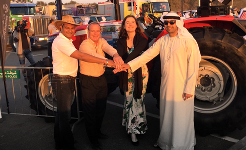 Kanoo Machinery participates in the 2015 Dubai Travelers Festival